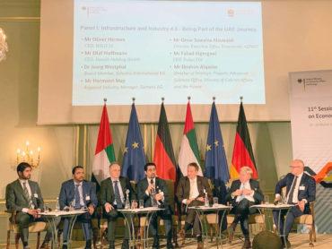 Deutschland und VAE – Konferenz im Berliner Adlon-Hotel, 0628