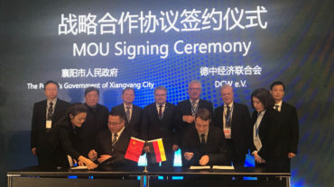 Xiangyang IAA MOU Signing Ceremony