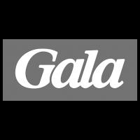 Logo Gala, black & white