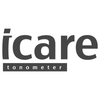Logo icare, black & white