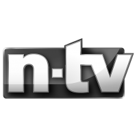 Logo n-tv, black & white