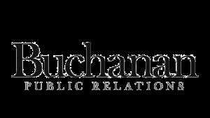 Logo Buchanan Public Relations, black & white