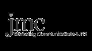 Logo jmc Marketing Communications, black & white